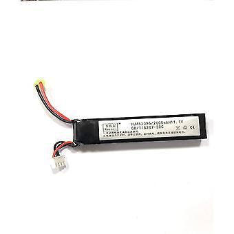 Batterijen voor airsoft li-po 11.1v 2000mah 30c per m4 kraan voorraad m110 sr25 ak47 mp5k mp5 litteken m249 m240b m60 g36 m14 rpk pkm l85 aug g3