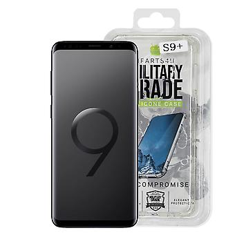 iParts4u Military Grade Silicone Case - Samsung Galaxy S9 Plus - Clear