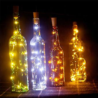 Led String Lamps, Wine Bottle Stopper Light Cork Shaped