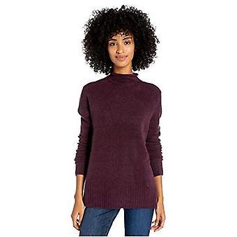 Brand - Goodthreads Women's Mid-Gauge Stretch Funnel Neck Sweater