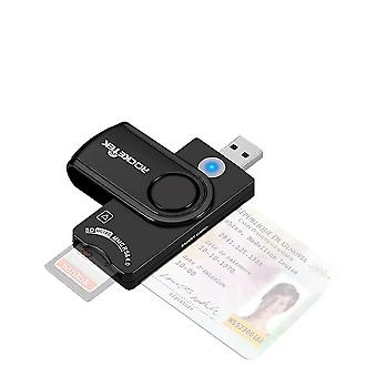 Usb 3.0- Smart Card Reader, Micro Sd/tf, Emv Electronic, Sim Cloner, Connector