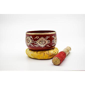 Root Chakra sangskål med tæppebanker - Muladhara