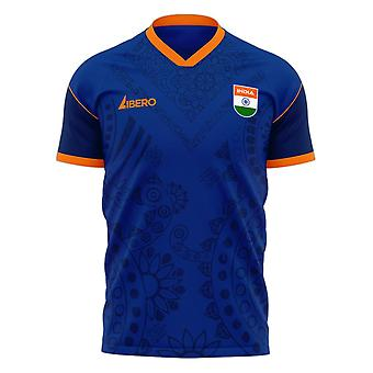 India 2020-2021 Home Concept Football Kit (Libero)