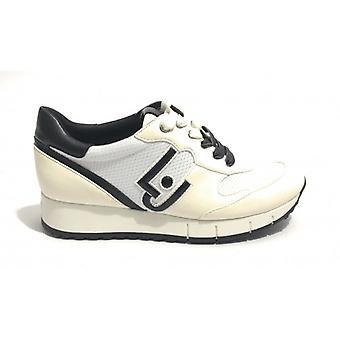 Sapatos Tênis Feminino Running Liu-jo Tc 45 Mod Gigi White Ds19lj15