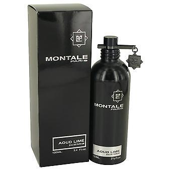 Montale Aoud Lime Eau De Parfum Spray (Unisex) par Montale 3.4 oz Eau De Parfum Spray