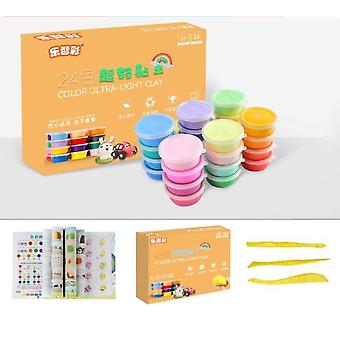 Polymer Clay Slimes, Early Education & Creative Colorful Plasticine, Soft Air