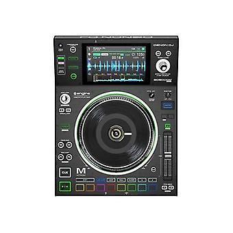 Denon dj sc5000m | lecteur multimédia dj professionnel avec plateau motorisé, écran multi-touch, pads de déclenchement multifonctions, && logiciel
