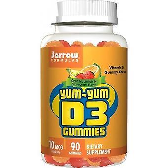Jarrow Formler YumYum D3 Gummies 10mcg Gummies 90