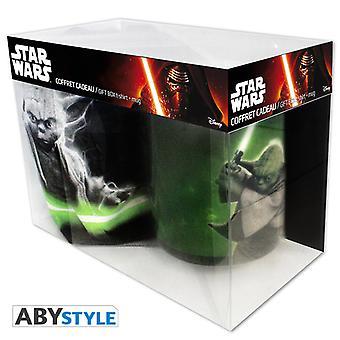 Star Wars - Yoda (X-Large T-paita + muki) Lahjalaatikko