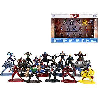 20kpl Marvel Avengers Nano Metalliviikunat Keräilyluvut 100% Die-Cast Wave 3