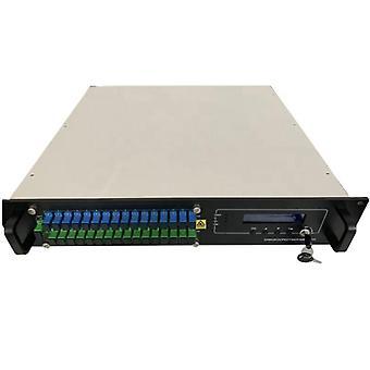 16ports High Power Output Catv 16*17 16*22dbm Fiber Optic Signal Amplifier