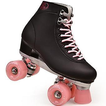 महिला और पुरुष 4 पहियों रोलर स्केट जूते