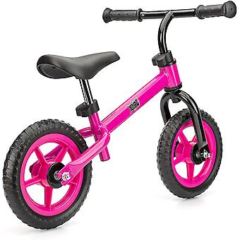 Xootz Balance Bike for Toddlers and Kids Training Bicycle with Adjustable Seat and No Pedals Pink