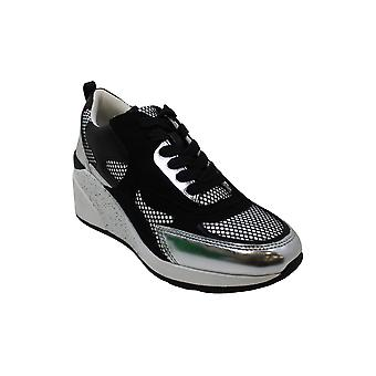 INC Internationella koncept Womens Hadya Lace-Up Wedge Sneakers