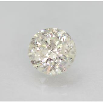 Certified 1.04 Carat G SI1 Round Brilliant Enhanced Natural Loose Diamond 6.24mm
