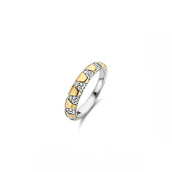 Ti Sento Kvinde Ring Smykker 12216ZY - Sølv