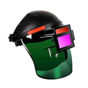 Svejsemaske, der er mørkfarvning af beskyttelsesmaske
