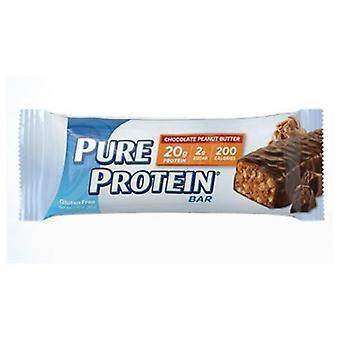 חטיף חלבון טהור חלבון טהור, שוקולד בוטנים 6/BX