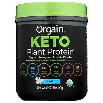 Orgain Keto Plant Protein Vanilla, 0.97 lbs