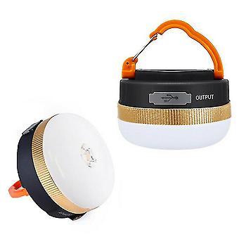 Usb charging camping lights led outdoor tents bulb emergency flashlight az12624