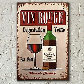 Kakel 8x12 Vin Rouge Av Martin Wiscombe Wall Art