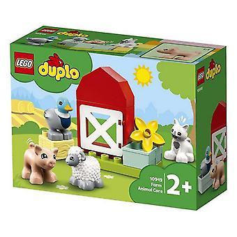 Playset Duplo Farm Animal Care Lego 10949 (11 pcs)