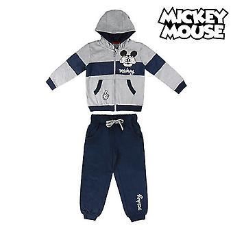 Tracksuit infantil Mickey Mouse 74780 Cinza