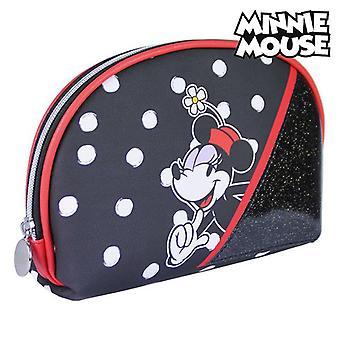 Borsa da toilette scuola Minnie Mouse Nero