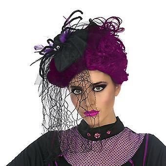 Headband Spider Black
