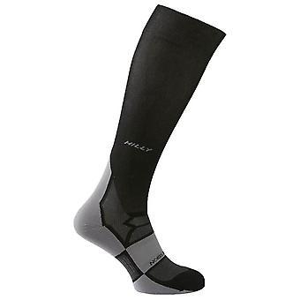 Hilly Pulse Compression Socks - Black/Grey
