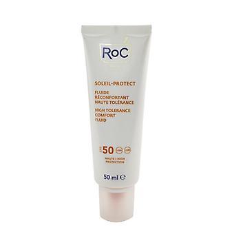 ROC Soleil-Protect High Tolerance Comfort Fluid SPF 50 UVA & UVB (Comforts Sensitive Skin) 50ml/1.69oz
