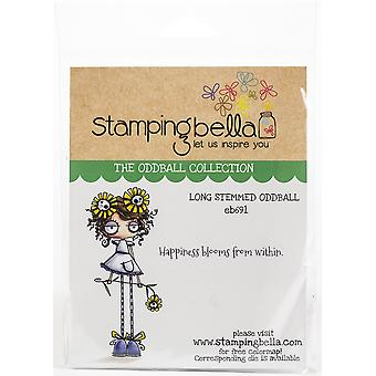 Stamping Bella Cling Stamps - Long Stemmed Oddball