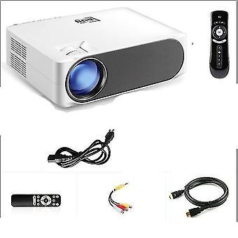 Full Hd-projektor -1920*1080p Opgradering 6800 Lumens Multimedia System til 4k 3d