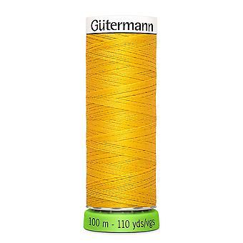 Gutermann 100% genanvendt polyester sy-alle tråd 100m hånd og maskine - 106