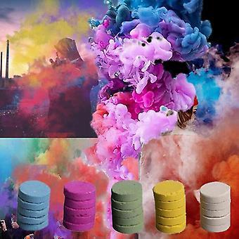 الملونة كعكة الدخان الدعائم الضباب الدخاني الاحتراق