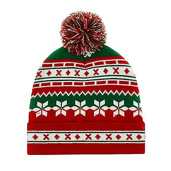 Seeunique Christmas Beanies Hat Unisex  Ugly Christmas Hat Knitted Xmas Party Cap