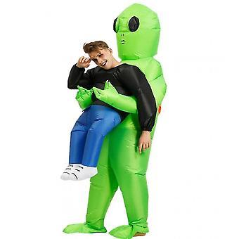 Aufblasbares Alien Kostüm für Erwachsene Lustige Halloween Kostüme