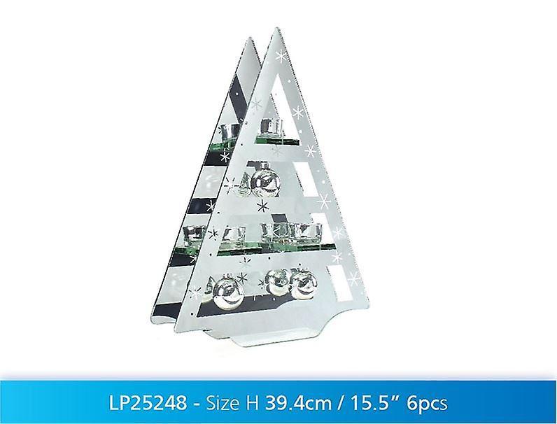 Xmas Tree Tea Light Candle Holder Christmas Lighting Tableware