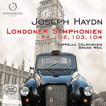 Haydn / Cappella Coloniensis / Weil - London Symphonies Nos. 102 & 103 & 104 [SACD] USA import