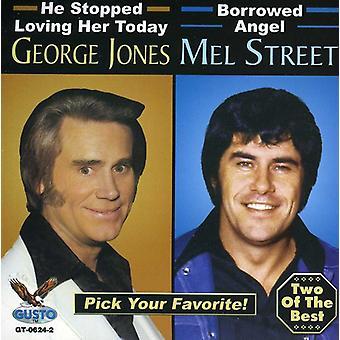 Calle Jones - importación de Estados Unidos George Jones y Mel calle [CD]