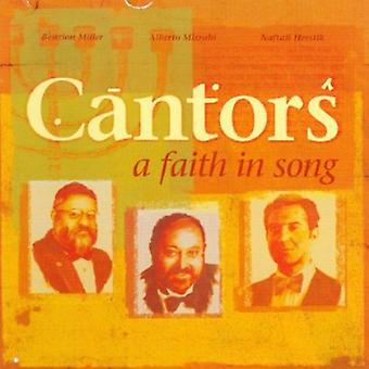 Cantors - A Cantors: A Faith in Song [CD] USA import