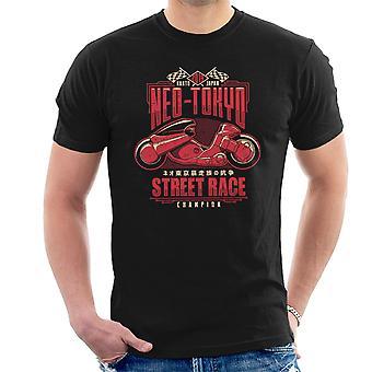 Neo Tokio Street Racing kampioen Akira mannen T-Shirt