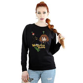 Harry Potter Damska bluza Wingardium Leviosa Junior Hermiona Granger
