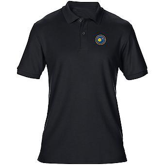 NASA avaruushallinnon brodeerattu Logo - Miesten poolopaita