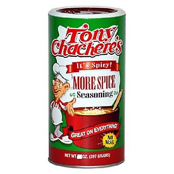 "Tony Chachere's More Spice Seasoning ""It's Spicy"" Chacheres"
