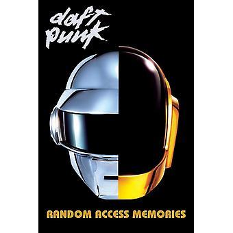 Daft Punk Random Access Random Access Memories plakat plakat Print