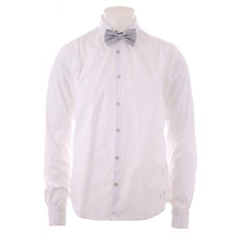Scotch & Soda Scotch And Soda Mens Shirt Ls Sleeve Fitted