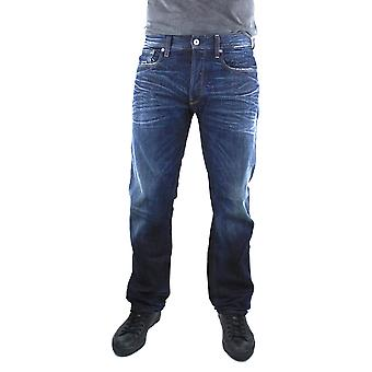 G-Star 3301 Loose DK Aged Swash Denim Jeans