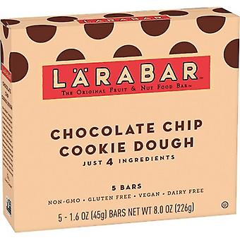 Larabar Chocolate Chip Cookie massa frutas & porca comida de Bar