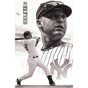 Nueva York Yankees - D Jeter 14 Poster Print